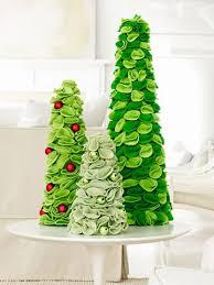 Felt Crafts For Christmas  Felt Christmas TreesChristmas Felt Crafts