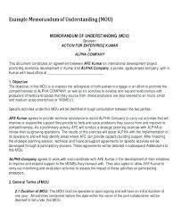 Memo Template Word Fascinating Memorandum Of Understanding Template Word Memo Sample Free Mou