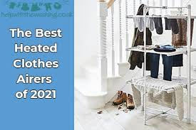 the best 8 heated clothes airers to