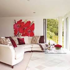 red furniture ideas. White Living Room Furniture With Red Cushions And Accent Wall Design In Color Ideas I