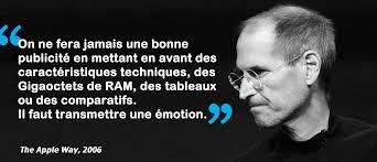 Lanti Leçon De Branding De Steve Jobs The Brandnewsblog L Le Blog