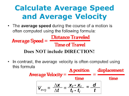 what is the equation for average velocity jennarocca