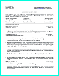 Compliance Officer Resume Compliance Officer Resume Is Well Designed