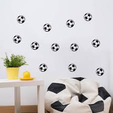 10 Stks Voetbal Voetbal Muursticker Kinderen Kamers Jongen
