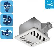 bathroom fan with led light. Delta Breez Signature G2 Series 110 CFM Ceiling Bathroom Exhaust Fan With LED Light And Night Led B