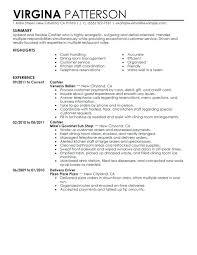 Fast Food Manager Resume Sample Fast Food Job Description For Resume