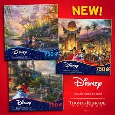 New 750 piece puzzles: <b>Pocahontas</b>, M&M Hollywood, Sleeping ...