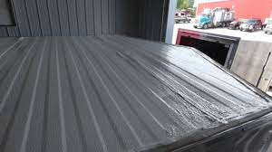 how to quickly paint your enclosed cargo trailer s roof
