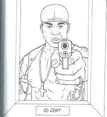 Gangster Coloring Pages Gangster Coloring Pages Pictures Gangsta