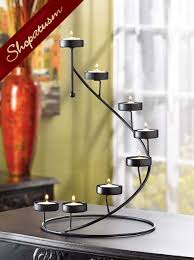 candle holder spiral stair centerpieces