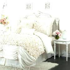 shabby chic comforter set decoration beautiful bedding sets white intended for 8 from simply cottage rose shabby chic comforter set