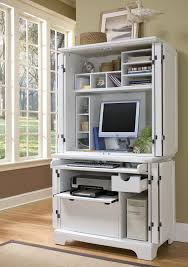computer desk with hutch with glass windows design with desk hutch home styles and white wooden