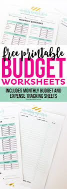 budget worksheet dave ramsey 25 unique printable budget sheets ideas on pinterest printable