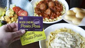 olive garden offers year of never ending pasta