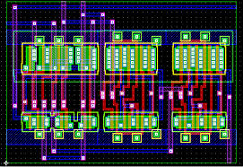 while the external aspect is ic layout designer