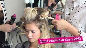 bouncing hair
