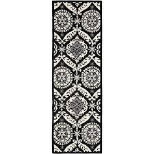 safavieh chelsea hollie hand hooked wool runner rug black ivory in on alibaba com