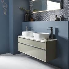 double basin vanity units for bathroom. roper rhodes scheme 1200mm double basin vanity unit \u0026 lighting units for bathroom d