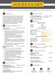 Resume Examples By Real People Web Developer Resume Template