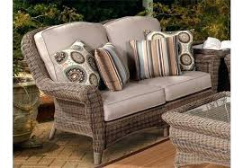 resin wicker loveseat outdoor with cushions washed stone patio for and chairs resin wicker loveseat