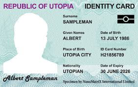 sample id cards id card anti counterfeiting id card with custom security solutions