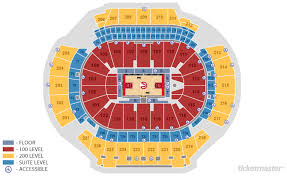 Atlanta State Farm Arena Seating Chart State Farm Arena Atlanta Tickets Schedule Seating