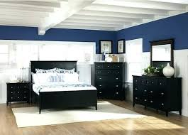 bedroom with black furniture. Navy Walls With Black Furniture Bedroom  Wall Color Ideas .