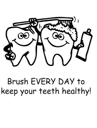 Small Picture Keep Your Teeth Healthty in Dental Health Coloring Page Color Luna
