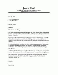 Proper Greeting For Cover Letter The Letter Sample