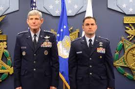 File Gen Norton Schwartz presents Air Force Cross to Capt Barry