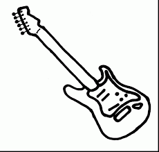 Small Picture guitar coloring book pages Archives coloring page