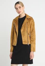 biker faux leather jacket warehouse tan wa221g01f c11 xwzlxiw