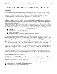 Resume Impact Statement Samples Elementary Teaching Philosophy Examples Pinteres 20