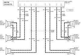 ford taurus radio wiring diagram schematics and wiring diagrams wiring diagram for radio on a 2007 ford 500