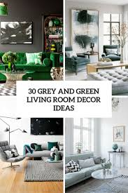 Amazing Grey And Green Living Room Decor Ideas Cover