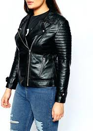 plus size leather biker jacket curve ultimate with zip detail at sizes womens 22