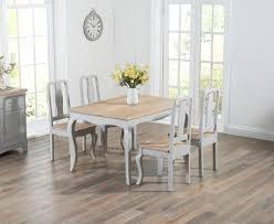 shabby chic cheap furniture. Parisian 130cm Grey Shabby Chic Dining Table With Chairs Cheap Furniture E