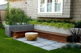 build raised concrete planter