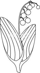 Kleurplaat Lelietje Van Dalen Planten Met Rijpe Bessen En Bladeren