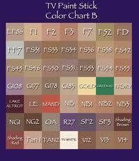 Max Factor Pan Stick Colour Chart Max Factor Foundation Colour Chart Max Factor Pancake