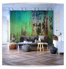 Vlies Fototapete 3d Muster Steinwand Grün Tapete Tapeten