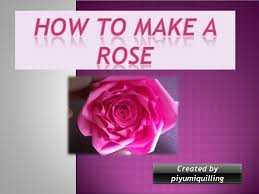 Paper Quilling Rose Flower Basket Piyumi Paper Quilling Paper Quilling How To Make A Rose Step By