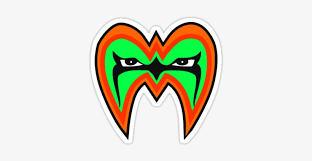 ultimate warrior face paint design wwf ultimate warrior mask