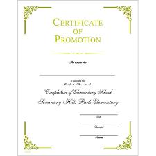 certificate of promotion template jones awards certificates templates jones certificate templates