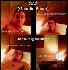 Geordie Shore s Gaz Beadle Naked In Explicit Leaked Pictures.