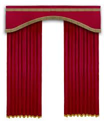 home theater door way curtains