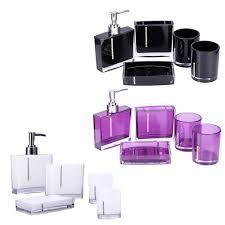 Purple Bathroom Accessories Set Popular Rhinestone Bathroom Accessories Buy Cheap Rhinestone