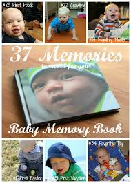 37 Memories to Record for Baby's First Year {Baby Memory Book Checklist} - baby-memory-book-checklist