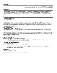 Credit And Collections Specialist Resume Sle The Sle Below