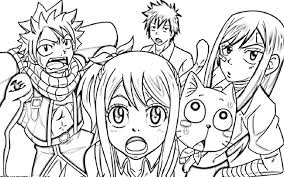 Small Picture Fairy Tail Coloring Pages Best Coloring Pages adresebitkiselcom